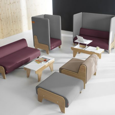 Mikomax Chillout moodulmööbel avalik ruum lounge puhkeruum Ergonomik