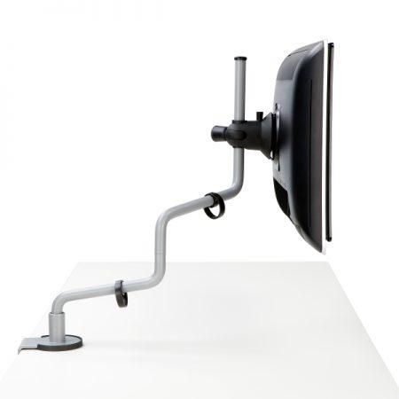Rodney monitorihoidja töökoha ergonoomika taaskasutatavast materjalist