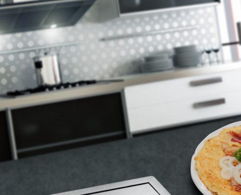 Evoline FlipTop-Push köögis