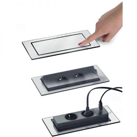 Evoline FlipBack pistikupesade komplekt USB pesa Ergonomik