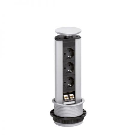 Evoline Port pistikupesade torn Ergonomik võrgupesad internetipesad USB pesa HDMI