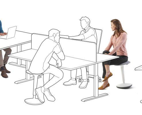 Sedus Se_fit aktiivseks istumiseks