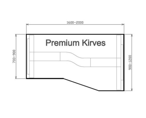 Premium Kirves parempoolne, joonis