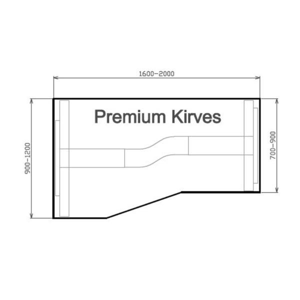 Premium Kirves vasakpoolne